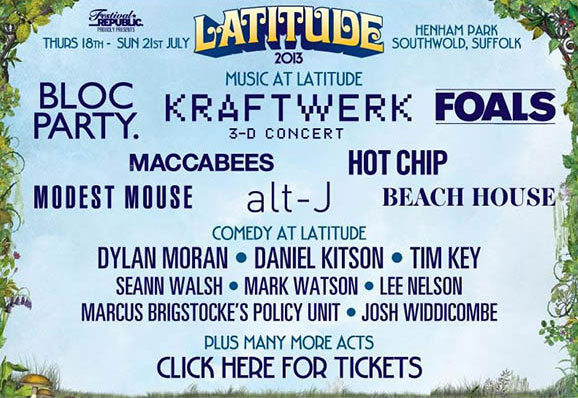 Latitude festival first line-up announcements