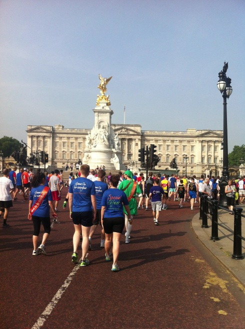 Buckingham Palace at the British 10k