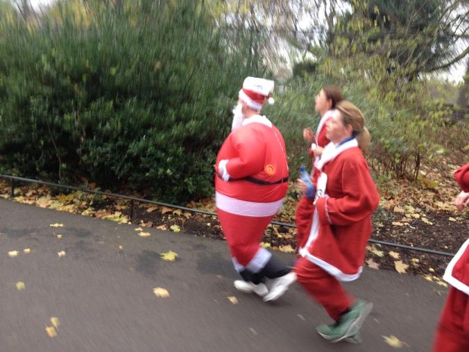 london santa run battersea park (15)