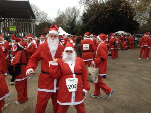 london santa run battersea park (7)