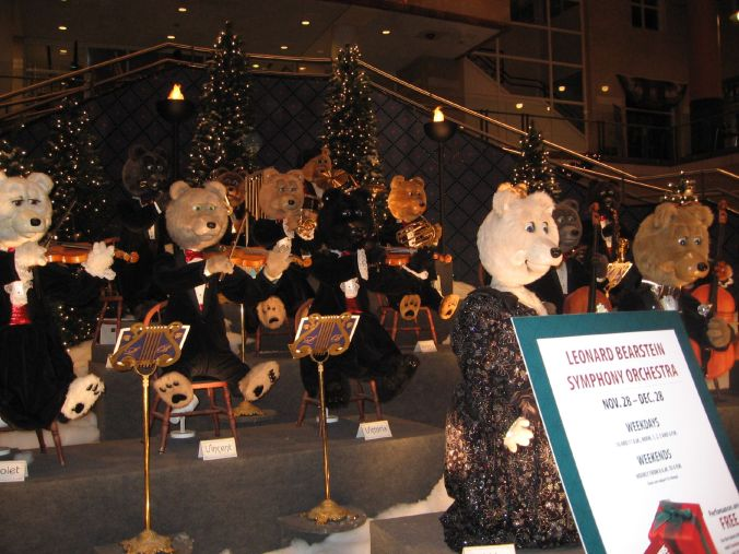 "I googled ""orchestra conducted by bears"" and now we may never sleep again"