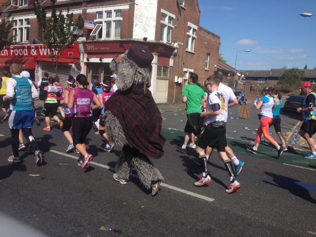 womble london marathon