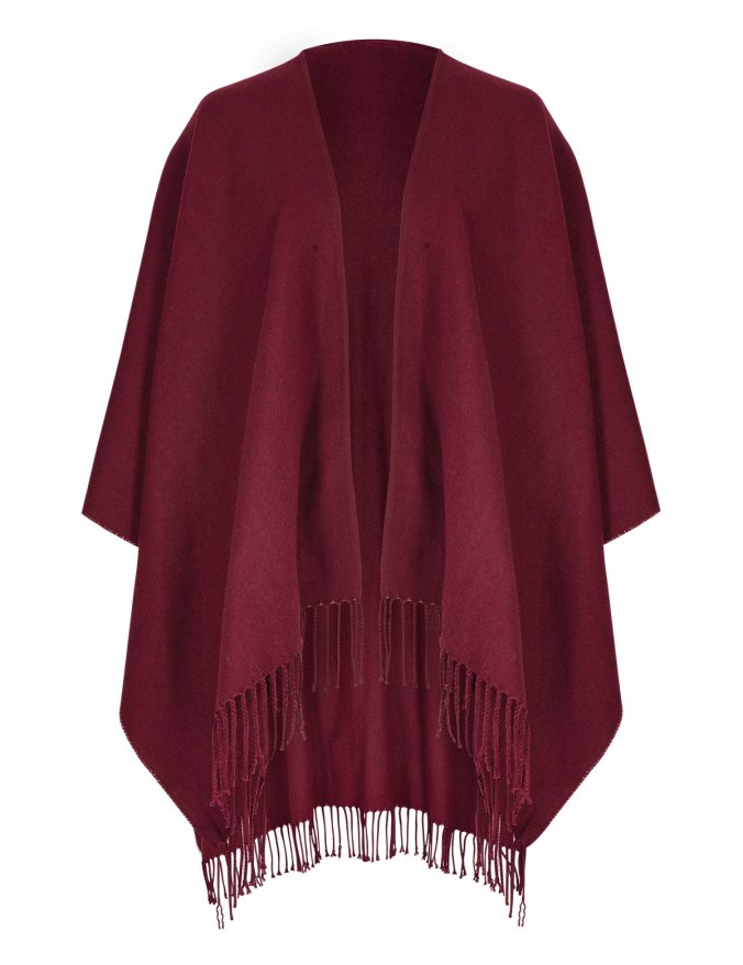 marks and spencer tassle wrap wine