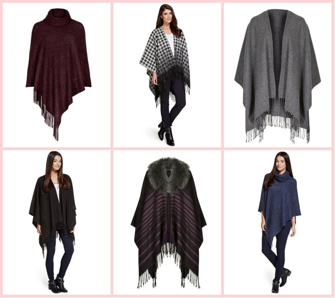 Marks and Spencer capes
